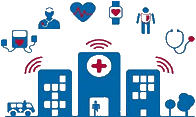 Hospital e-commerce, Social distancing software for hospitals In Italy, South Africa, Canada, California, Australia