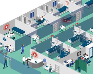 Vikas - Digital twin, hospital indoor positioning system